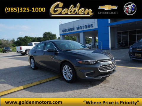 2018 Chevrolet Malibu for sale at GOLDEN MOTORS in Cut Off LA