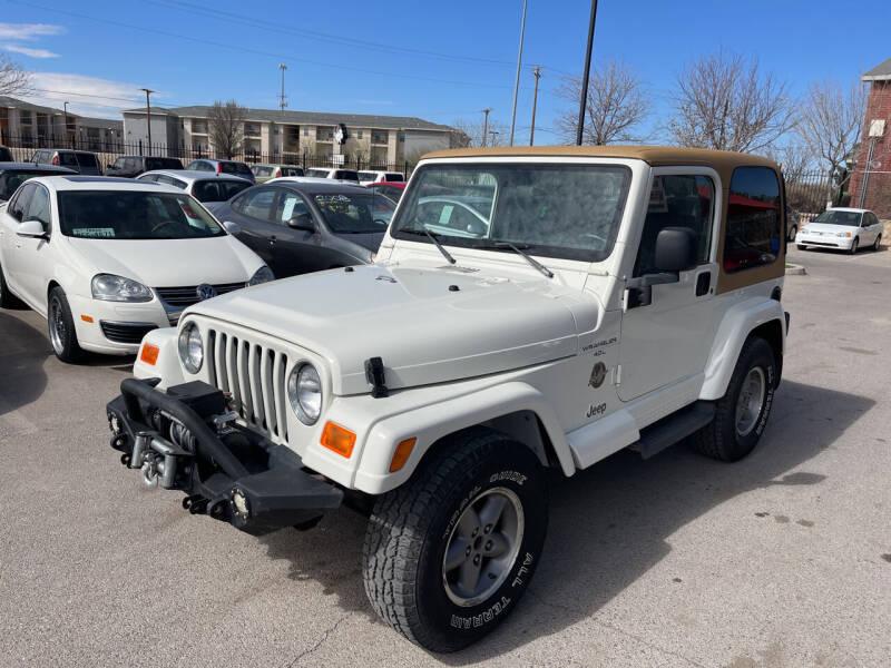 1999 Jeep Wrangler for sale at Legend Auto Sales in El Paso TX
