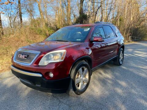 2011 GMC Acadia for sale at Speed Auto Mall in Greensboro NC