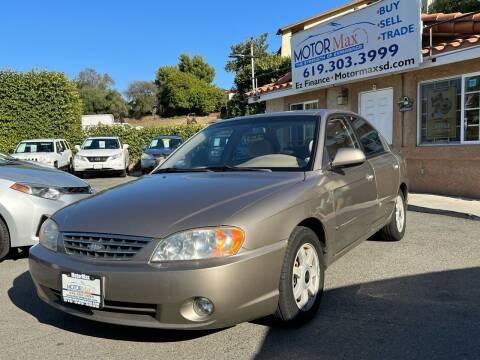 2004 Kia Spectra for sale at MotorMax in Lemon Grove CA