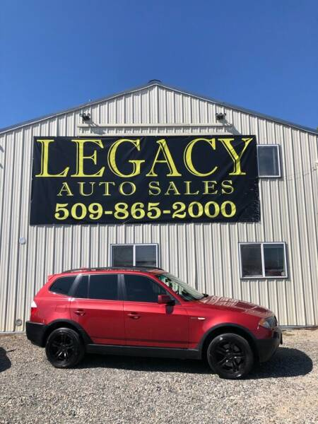 2005 BMW X3 for sale at Legacy Auto Sales in Toppenish WA