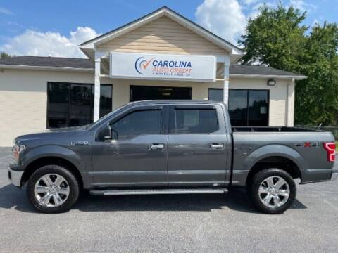 2018 Ford F-150 for sale at Carolina Auto Credit in Youngsville NC