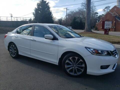 2014 Honda Accord for sale at McAdenville Motors in Gastonia NC