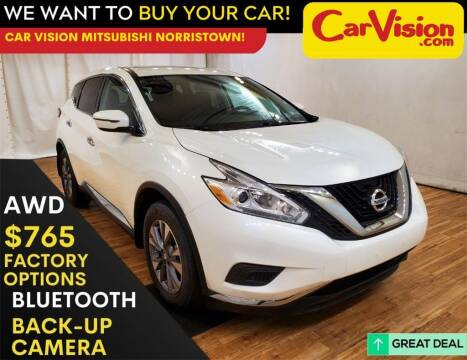 2016 Nissan Murano for sale at Car Vision Mitsubishi Norristown in Trooper PA