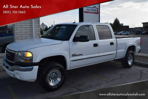 2005 GMC Sierra 2500HD for sale at All Star Auto Sales in Pleasant Grove UT