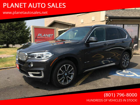 2018 BMW X5 for sale at PLANET AUTO SALES in Lindon UT
