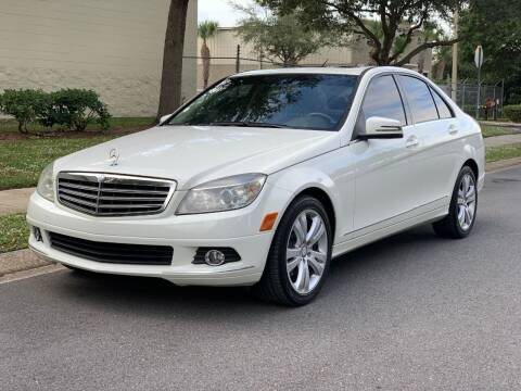 2011 Mercedes-Benz C-Class for sale at Presidents Cars LLC in Orlando FL