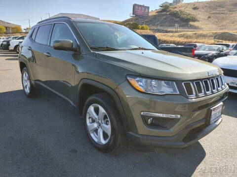2018 Jeep Compass for sale at Guy Strohmeiers Auto Center in Lakeport CA