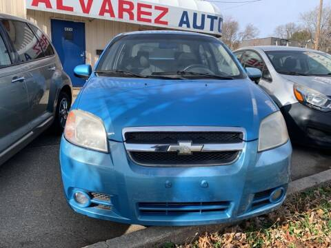 2007 Chevrolet Aveo for sale at ALVAREZ AUTO SALES in Des Moines IA