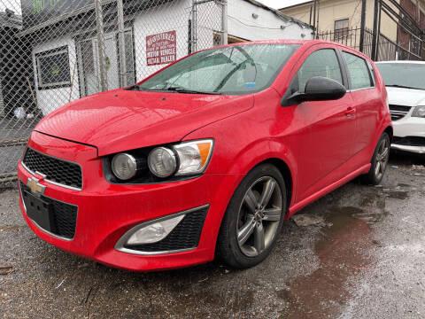 2014 Chevrolet Sonic for sale at Cypress Motors of Ridgewood in Ridgewood NY