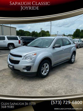 2011 Chevrolet Equinox for sale at Sapaugh Classic Joyride in Salem MO