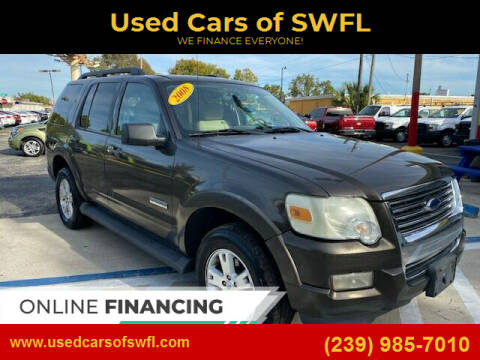 2008 Ford Explorer for sale at Used Cars of SWFL in Fort Myers FL