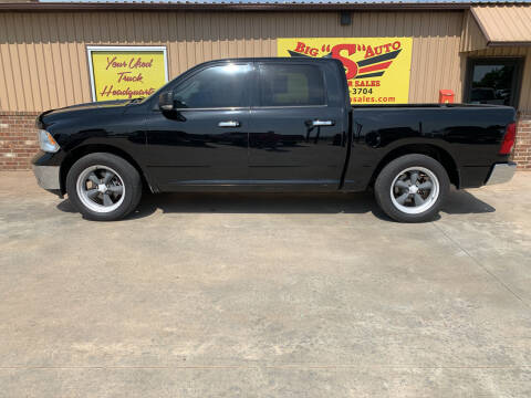 2014 RAM Ram Pickup 1500 for sale at BIG 'S' AUTO & TRACTOR SALES in Blanchard OK