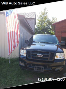 2004 Ford F-150 for sale at WB Auto Sales LLC in Barnum MN