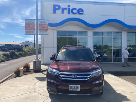 2017 Honda Pilot for sale at Price Honda in McMinnville in Mcminnville OR