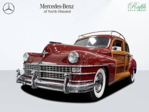 1948 Chrysler Town and Country for sale at Mercedes-Benz of North Olmsted in North Olmsted OH