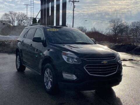 2017 Chevrolet Equinox for sale at Betten Baker Preowned Center in Twin Lake MI