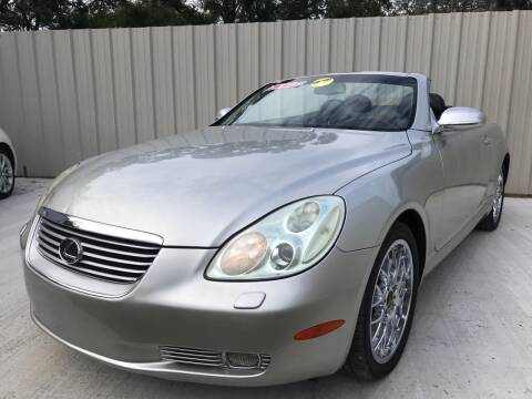 2002 Lexus SC 430 for sale at RoMicco Cars and Trucks in Tampa FL