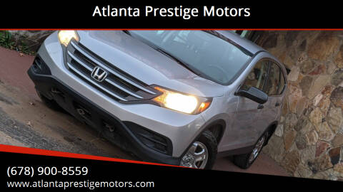 2013 Honda CR-V for sale at Atlanta Prestige Motors in Decatur GA