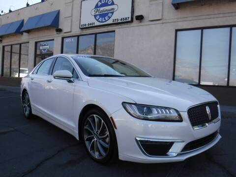 2019 Lincoln MKZ for sale at Platinum Auto Sales in Provo UT
