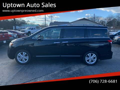 2012 Nissan Quest for sale at Uptown Auto Sales in Rome GA
