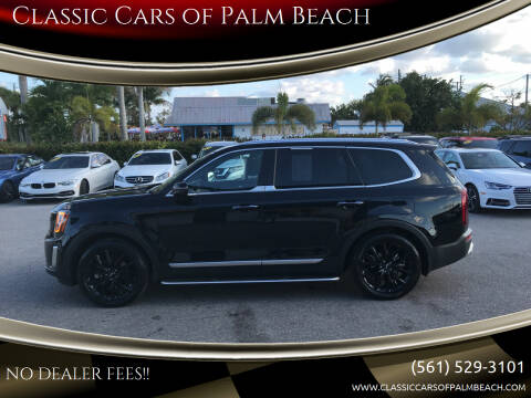 2020 Kia Telluride for sale at Classic Cars of Palm Beach in Jupiter FL