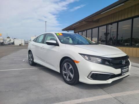 2019 Honda Civic for sale at California Motors in Lodi CA