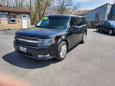 2014 Ford Flex for sale at Excellent Autos in Amsterdam NY
