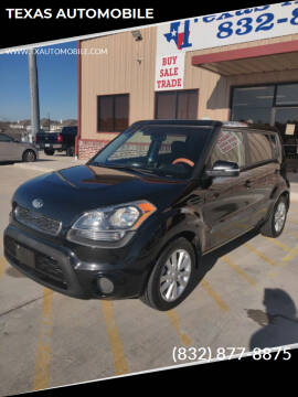 2013 Kia Soul for sale at TEXAS AUTOMOBILE in Houston TX