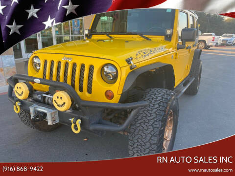 2008 Jeep Wrangler Unlimited for sale at RN Auto Sales Inc in Sacramento CA