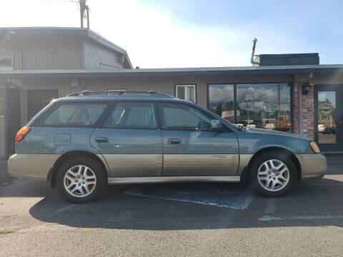 2002 Subaru Outback for sale at Westside Motors in Mount Vernon WA
