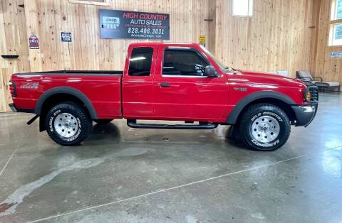 2003 Ford Ranger for sale at Boone NC Jeeps-High Country Auto Sales in Boone NC