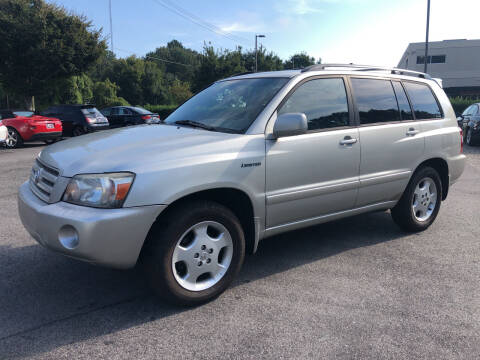 2004 Toyota Highlander for sale at European Performance in Raleigh NC