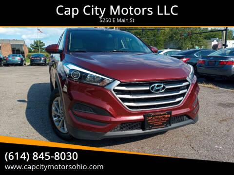 2017 Hyundai Tucson for sale at Cap City Motors LLC in Columbus OH