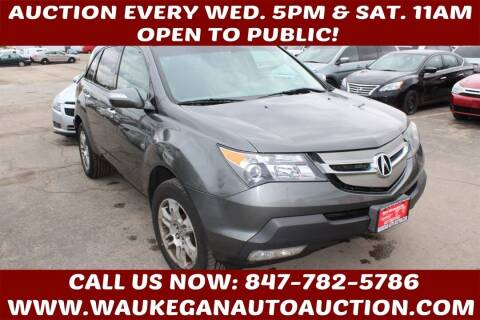 2007 Acura MDX for sale at Waukegan Auto Auction in Waukegan IL