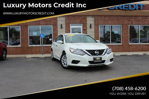 2017 Nissan Altima for sale at Luxury Motors Credit Inc in Bridgeview IL