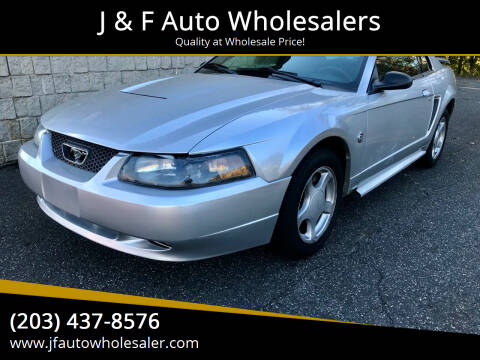 2004 Ford Mustang for sale at J & F Auto Wholesalers in Waterbury CT