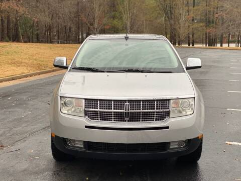 2010 Lincoln MKX for sale at Top Notch Luxury Motors in Decatur GA