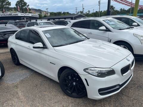 2014 BMW 5 Series for sale at Direct Auto in D'Iberville MS