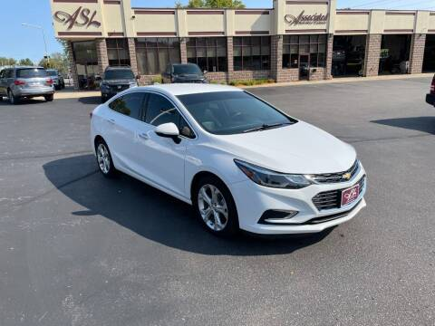 2017 Chevrolet Cruze for sale at ASSOCIATED SALES & LEASING in Marshfield WI