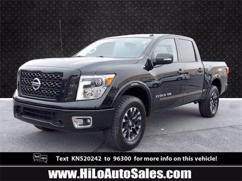 2019 Nissan Titan for sale at Hi-Lo Auto Sales in Frederick MD