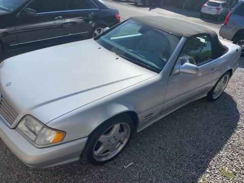 2001 Mercedes-Benz SL-Class for sale at Trocci's Auto Sales in West Pittsburg PA