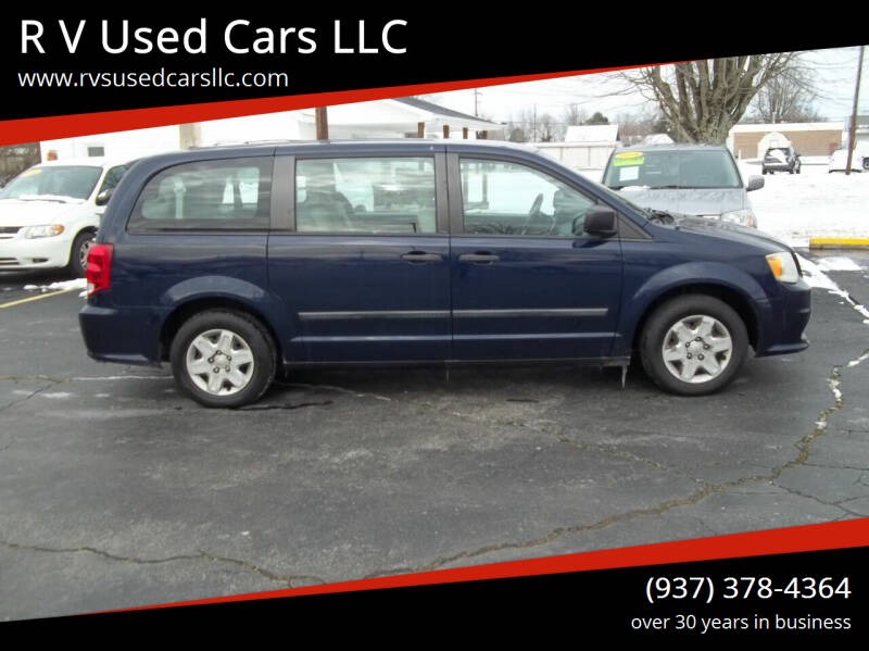 2012 Dodge Grand Caravan for sale at R V Used Cars LLC in Georgetown OH