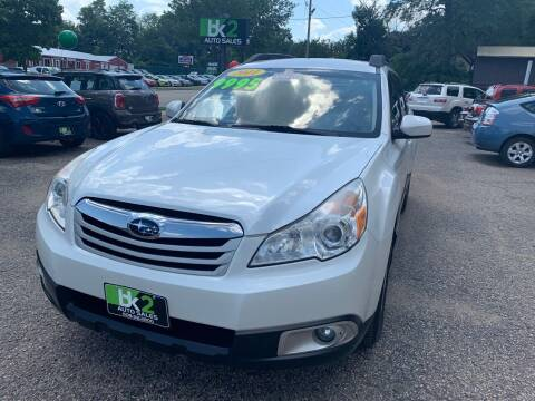2011 Subaru Outback for sale at BK2 Auto Sales in Beloit WI
