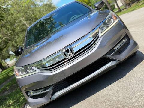 2016 Honda Accord for sale at HIGH PERFORMANCE MOTORS in Hollywood FL