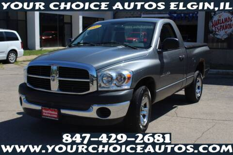2007 Dodge Ram Pickup 1500 for sale at Your Choice Autos - Elgin in Elgin IL