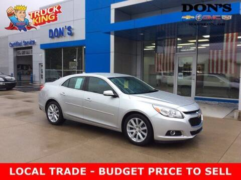 2014 Chevrolet Malibu for sale at DON'S CHEVY, BUICK-GMC & CADILLAC in Wauseon OH