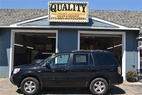 2008 Honda Pilot for sale at Quality Pre-Owned Automotive in Cuba MO