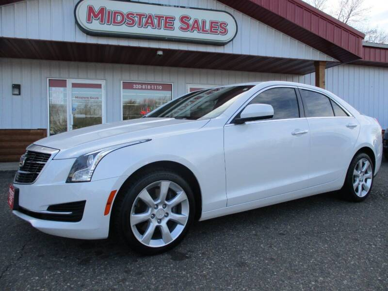 2015 Cadillac ATS for sale at Midstate Sales in Foley MN