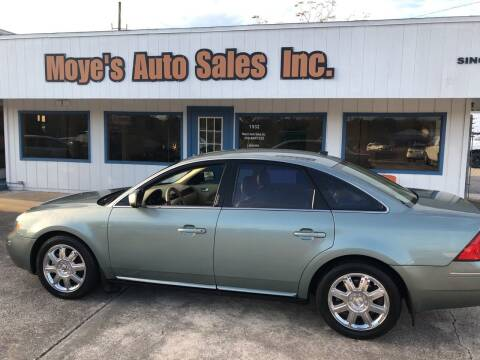 2007 Ford Five Hundred for sale at Moye's Auto Sales Inc. in Leesburg FL
